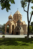 Katoghike Church and Surb Anna Church of Yerevan. Royalty Free Stock Photography