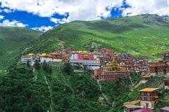 Katok修道院在西康省,藏东 图库摄影