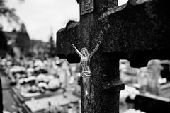 Katoliccy religijni symbole Zdjęcie Royalty Free