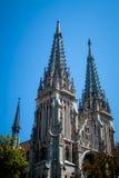 Katolicka katedra Obrazy Royalty Free