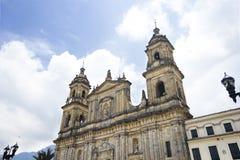 Katolicka katedra przy Bogotà ¡ fotografia stock