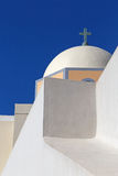 Katolicka katedra w Fira zdjęcie royalty free