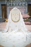 Katolicka klerykalna peleryna Obraz Royalty Free