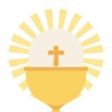 Katolicka religia royalty ilustracja