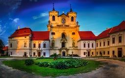 Katolicki monaster fotografia royalty free