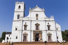 Katolicki Portugalski kościół w India obrazy stock