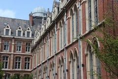 (3) katolicki uniwersytet Lille, Francja - Zdjęcie Royalty Free