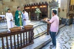 katolik masa Zdjęcie Royalty Free