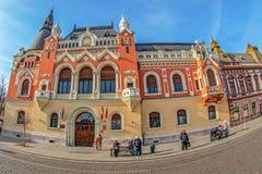 Katolika Biskupi pałac, Oradea, Rumunia Zdjęcia Stock