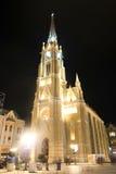 Katolsk domkyrka i Novi Sad, Serbien Arkivfoton