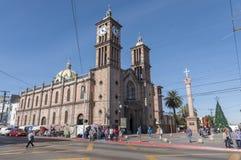 Katolsk domkyrka i Tijuana Arkivfoto