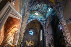 Katolsk fristad som är hängiven till enslinghelgonet Antonio royaltyfri fotografi