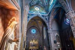 Katolsk fristad som är hängiven till enslinghelgonet Antonio fotografering för bildbyråer