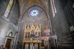 Katolsk fristad som är hängiven till enslinghelgonet Antonio arkivbild