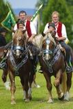 katolsk hästprocession royaltyfria foton
