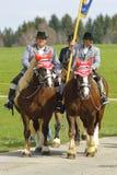 katolsk hästprocession Royaltyfri Fotografi