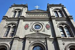 Katolsk kyrka Arkivbild