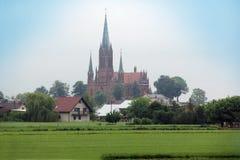 Katolsk kyrka Arkivfoton