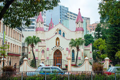 Katolsk kyrka arkivfoto