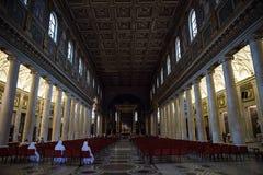 Katolsk kyrka av Maria Maggiore Arkivfoton