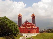 Katolsk kyrka av St Peter aposteln, stång, Montenegro Royaltyfri Bild