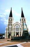 Katolsk kyrka chantaburi, Thailand Royaltyfri Bild