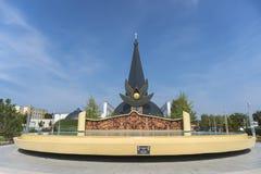 Katolsk kyrka för St Stephen ` s hungary Fotografering för Bildbyråer