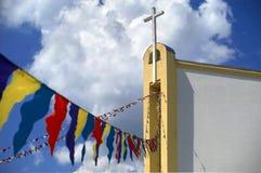 katolsk kyrka f Arkivfoton