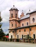 Katolsk kyrka Horodenka ukraine Royaltyfria Bilder