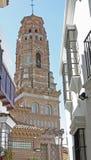 Katolsk kyrka i i stadens centrum Barcelona Royaltyfri Bild