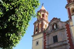 Katolsk kyrka i Mexico Royaltyfria Foton