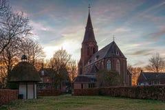 Katolsk kyrka i Nederländerna Royaltyfri Fotografi
