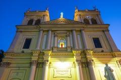 Katolsk kyrka i Negombo royaltyfri foto