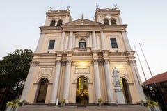 Katolsk kyrka i Negombo royaltyfri fotografi
