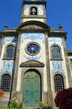 Katolsk kyrka i Porto, Capela de Fradelos, Portugal royaltyfria foton