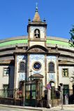 Katolsk kyrka i Porto, Capela de Fradelos, Portugal royaltyfria bilder