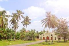 Katolsk kyrka i Sri Lanka Arkivbilder