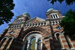 Katolsk kyrka i Tianjin Royaltyfria Foton