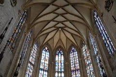 Katolsk kyrka i ulm royaltyfria foton