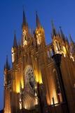 katolsk kyrka moscow Royaltyfri Foto