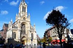Katolsk kyrka på söndag Royaltyfri Fotografi