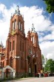 katolsk kyrka russia smolensk arkivbild