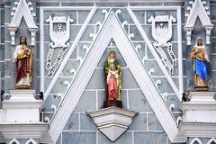 katolsk kyrka thailand Arkivbild