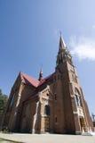 katolsk kyrkapolermedel Arkivfoton