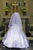 katolsk nattvardsgångbön Royaltyfri Bild