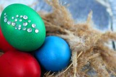 Katolsk påsk söndag för påsk och ortodox påsk söndag Arkivbild