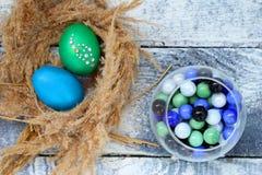 Katolsk påsk söndag för påsk och ortodox påsk söndag Royaltyfri Fotografi