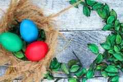 Katolsk påsk söndag för påsk och ortodox påsk söndag Royaltyfri Foto