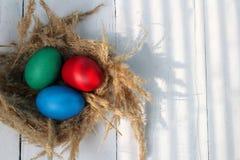 Katolsk påsk söndag för påsk och ortodox påsk söndag Royaltyfria Bilder