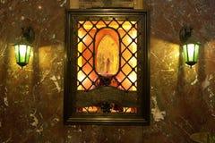 Katolsk relik Royaltyfri Foto
